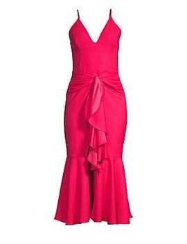 Bo Ruffle Midi Mermaid Dress by Pat Bo
