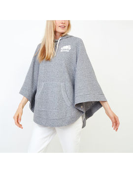 Fleece Poncho Fleece Poncho by Roots