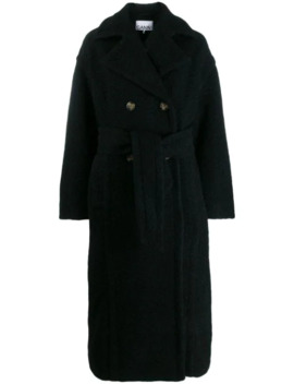 Buttoned Oversized Coat by Ganni