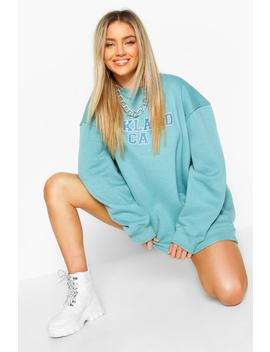 Oversized Oakland Sweat by Boohoo