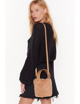 Supersoft Fur Bucket Bag by Nasty Gal