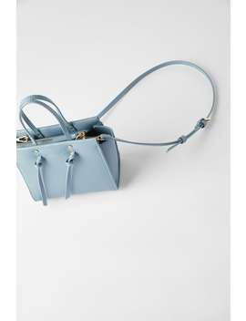 Knotted Mini City Bag Crossbody Bags Bags Woman by Zara
