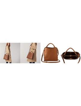 Love And Lore Beatrice Top Handle Tote Cognac by Love & Lore