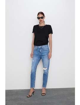 Jeans Zw Premium Slim Boyfriend Ver Tudo Jeans Mulher by Zara