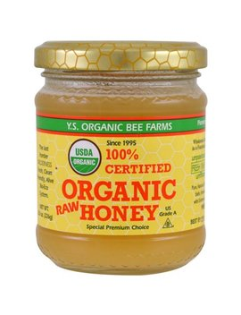 Y S Eco Bee Farms 100 Certified Organic Raw Honey 8 0 Oz 226 G by Y.S. Eco Bee Farms