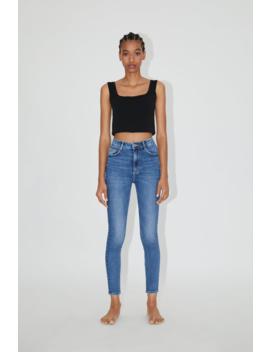 Jeans Hi Rise Sculpt Ver Tudo Jeans Mulher by Zara