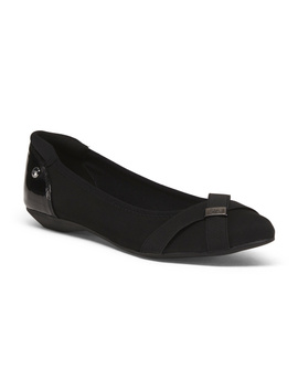 Comfort Pointy Toe Flats by Tj Maxx