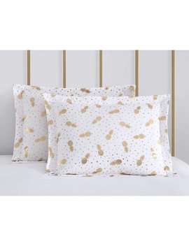 Pineapple Print On Dots Comforter Set By Mainstays by Mainstays