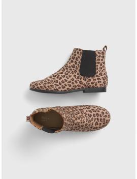 Kids Leopard Booties by Gap