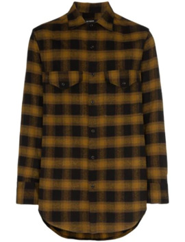 Oversized Check Shirt by Song For The Mute