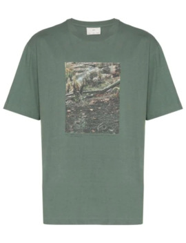 Bush Print T Shirt by Song For The Mute
