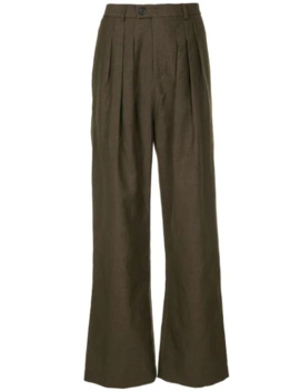 Flared Trousers by Strateas Carlucci