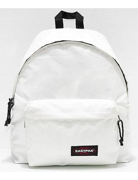 Eastpak Padded Pak'r Metallic Pearl Backpack by Eastpak