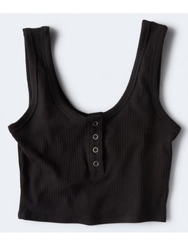 Micro Henley Tank by Aeropostale