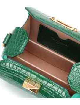 Box Bag 16 Leather Shoulder Bag by Alexander Mc Queen