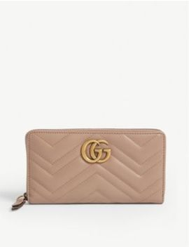 Marmont Quilted Leather Wallet by Gucci