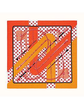 Clic Clac à Pois Handkerchief by Hermès