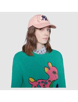 Baseball Cap With Ny Yankees™ Patch by Gucci
