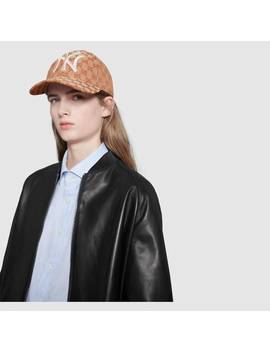 Baseball Hat With Ny Yankees™ Patch by Gucci