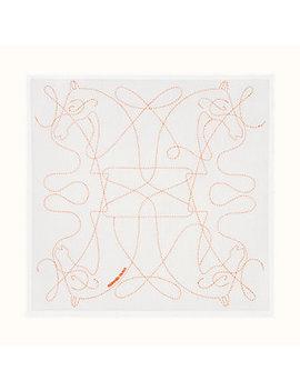 Coupe De Fouet Handkerchief by Hermès