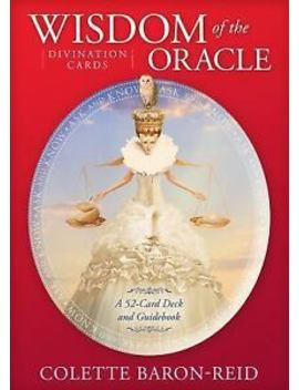 Wisdom Of The Oracle Divination Cards : Ask And Know By Colette Baron Reid (2015, Cards,Flash Cards) by Ebay Seller