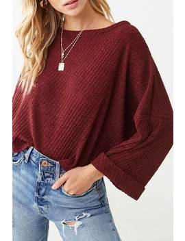 Shadow Striped Vented Top by Forever 21