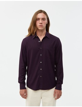 Classic Silk Noil Shirt by Our Legacy