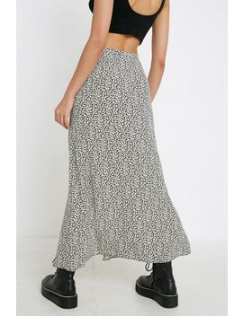 Uo Floral Tie Side Maxi Skirt by Urban Outfitters