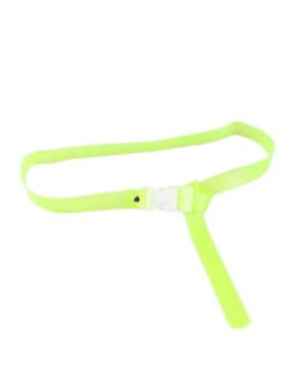 Candy Color Transparent Pvc Belt   Green by Zaful