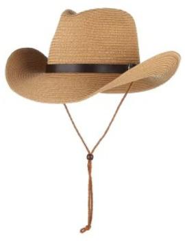 Straw Foldable Sun Floppy Hat   Khaki by Zaful