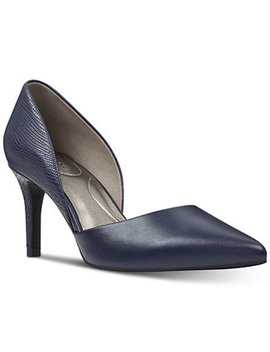 Grenow Pointy Toe D'orsay Pumps by General