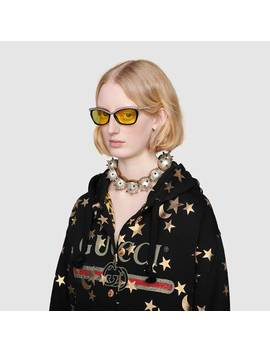 Sweatshirt With Stars And Moon Print by Gucci
