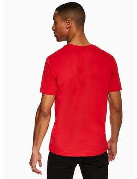 Nicce Red Chest Logo T Shirt by Topman