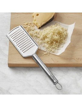 All Clad Stainless Steel Paddle Grater by Williams   Sonoma