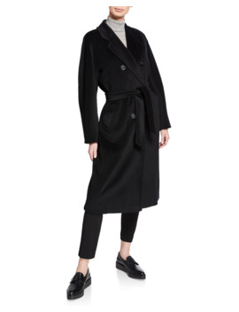 Wool Cashmere Belted Madame Coat by Maxmara