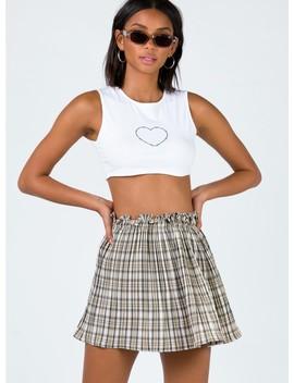 Karita Mini Skirt by Princess Polly