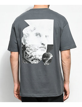 Empyre Stone Gaze Charcoal T Shirt by Empyre