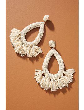 Deepa Rafaela Hooped Post Earrings by Deepa