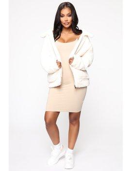 Your Warm Touch Jacket   Ivory by Fashion Nova