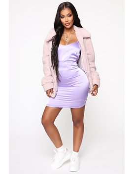 Your Warm Touch Jacket   Lavender by Fashion Nova