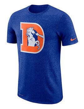 Men's Denver Broncos Marled Historic Logo T Shirt by General