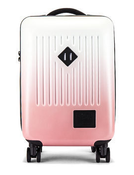 Trade Carry On Suitcase In Silver Birch & Ash Rose Gradient by Herschel Supply Co.