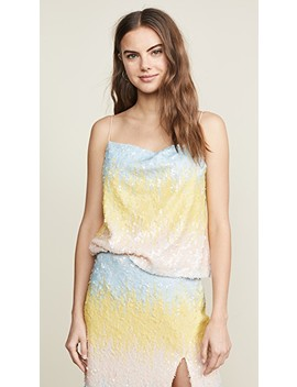 Colorblock Sequin Top by Endless Rose