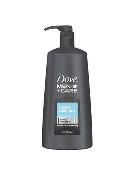 Dove Men+Care Clean Comfort Body Wash + Face Wash Pump 23.5 Oz by Dove Men+Care
