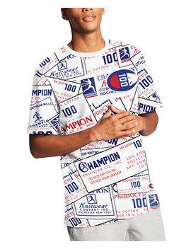 Men's Century Logo T Shirt by General