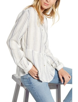 Celeste Stripe Linen Blend Top by Rails