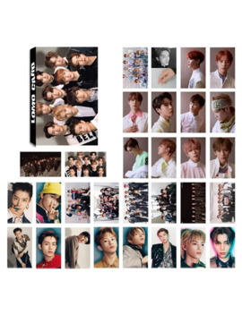 30 Pcs/Set Kpop Nct127 Photo Card Poster Lomo Cards Self Made Paper Photocard Fans Gift Collection by Ali Express.Com