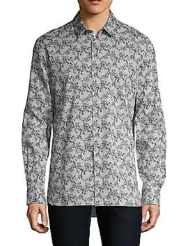 Trent Printed Short Sleeve Shirt by John Varvatos Star U.S.A.