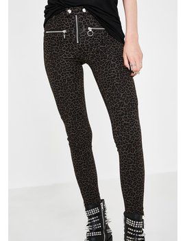 Leopard Skinny Jeans by Blank Nyc