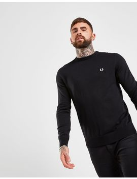 Fred Perry Crew Knit Sweatshirt by Fred Perry